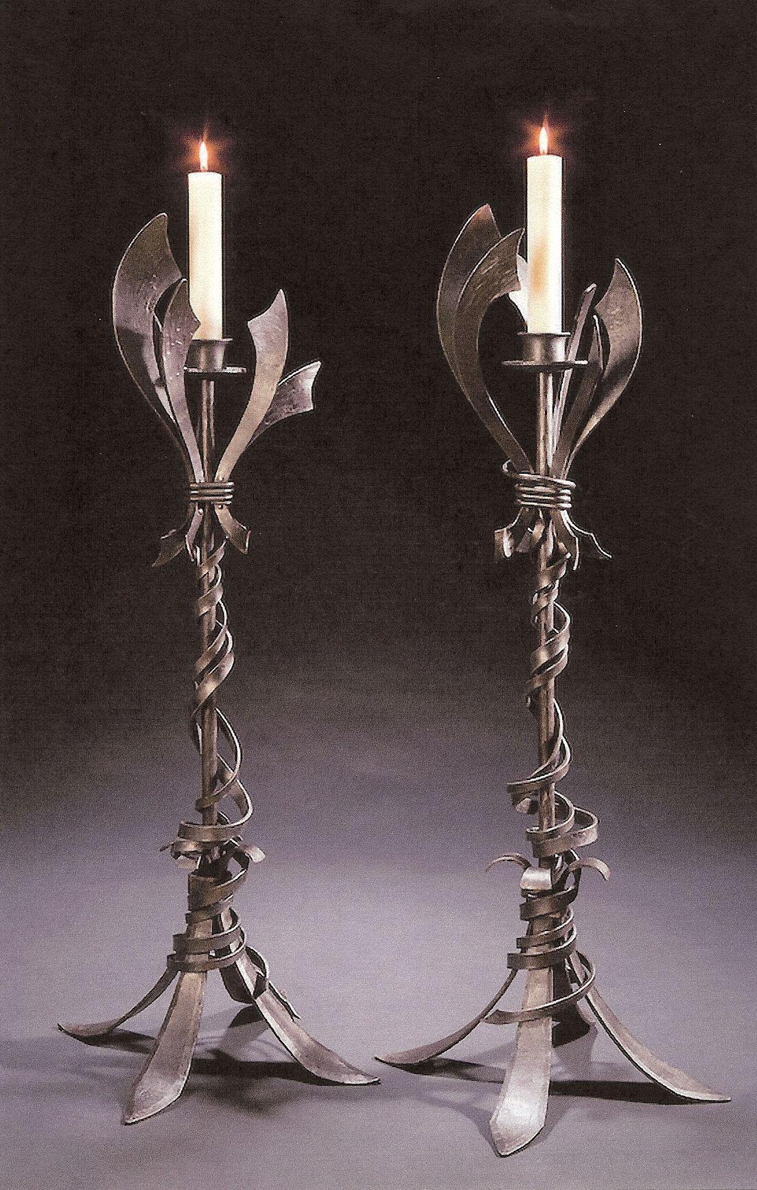 "Altar Candlesticks. ""Holy Family Catholic Community"", Fond du Lac, WI"