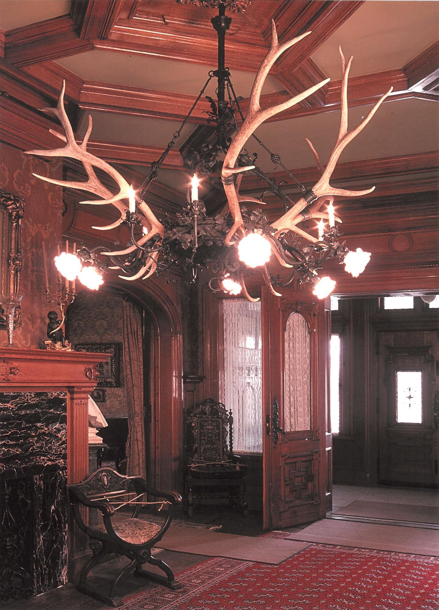 """Made for the """"Captain Frederick Pabst Mansion"""", Milwaukee WI"""