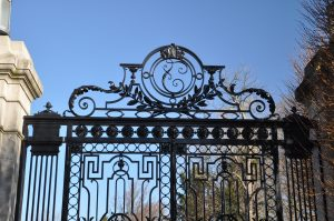 Gate detail- top