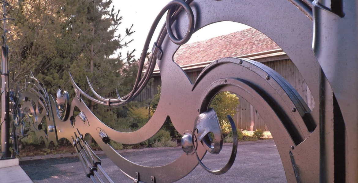 Lynden Sculpture Garden Entrance Gate