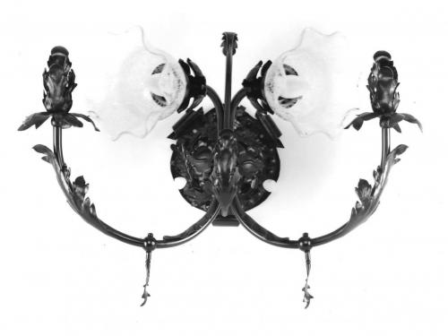 L Wall Sconce Pabst Mansion Staircase