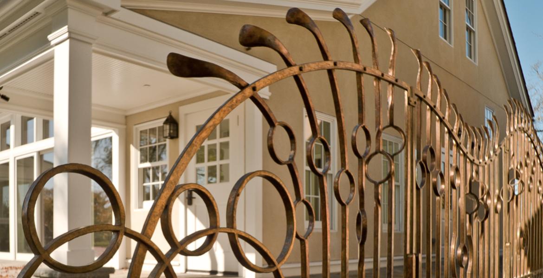 Lynden Sculpture Garden Bronze Railing